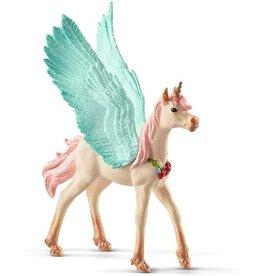 Schleich Decorated unicorn pegasus, foal