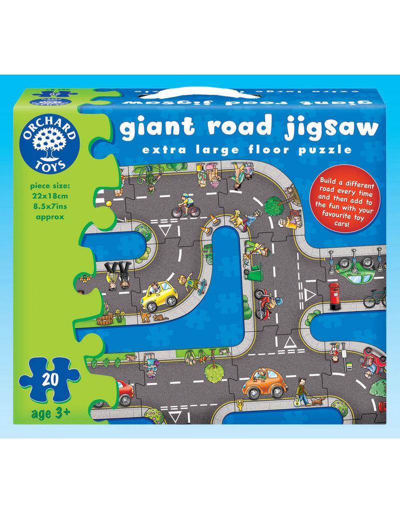 Original Toy Giant Road Jigsaw