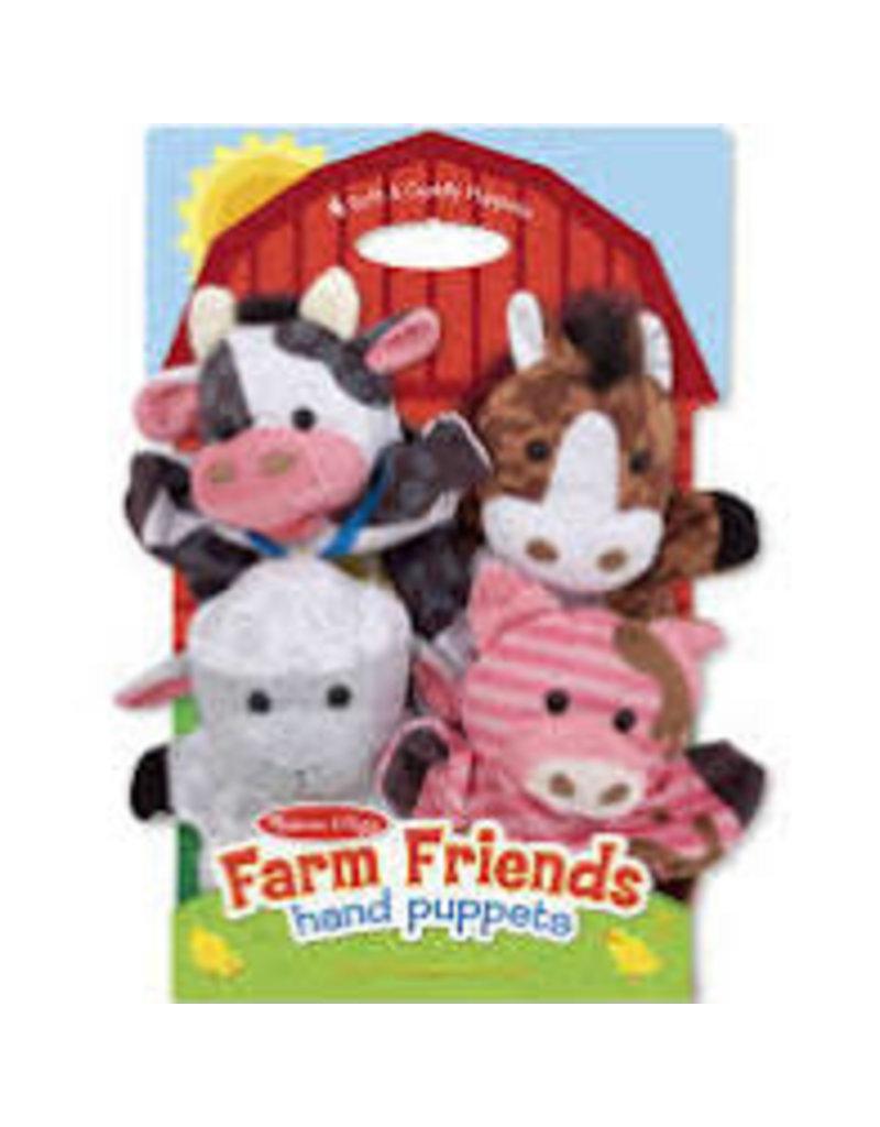 Melissa and Doug Farm Friends Hand Puppets