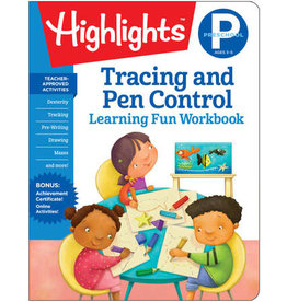 Highlights Highlights Preschool Tracing, Pen Control