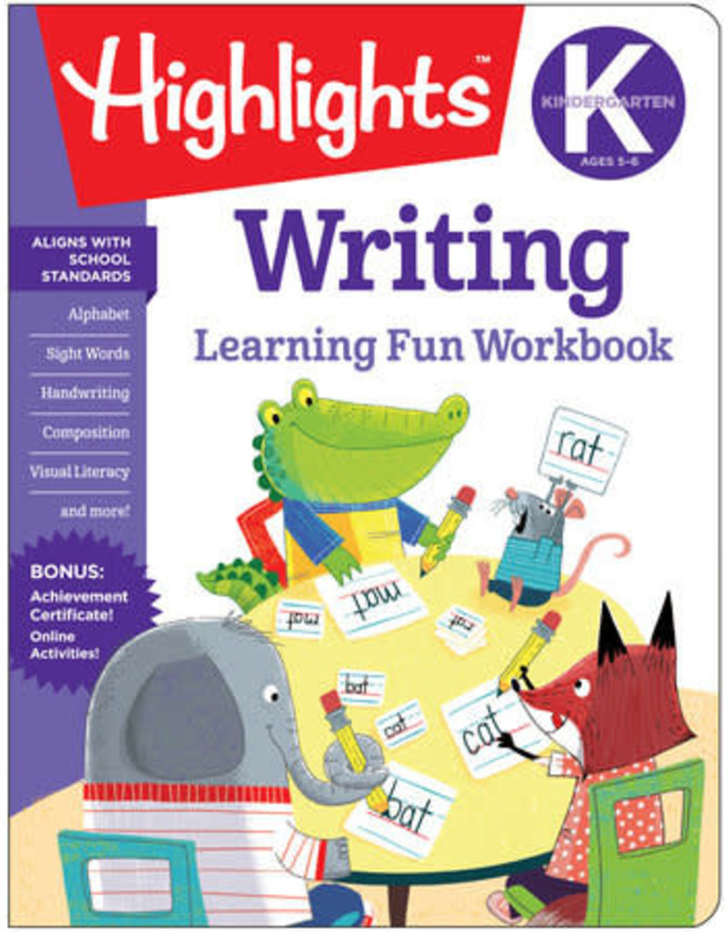 Highlights Highlights K Writing