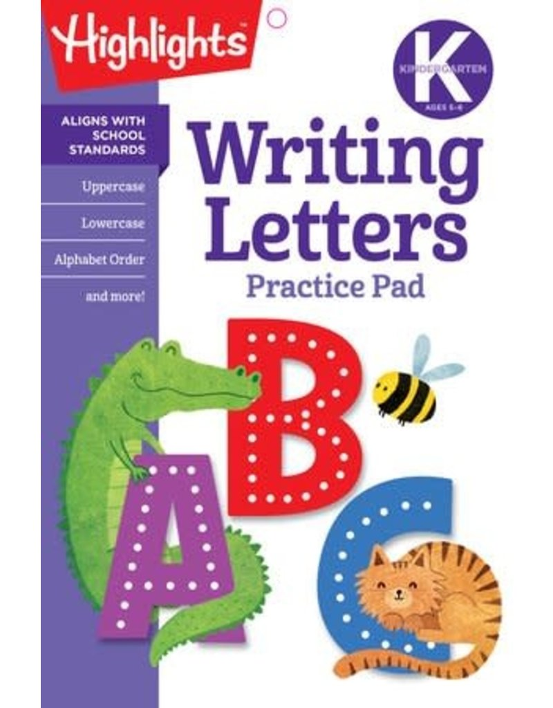 Highlights Highlights K Writing Letters