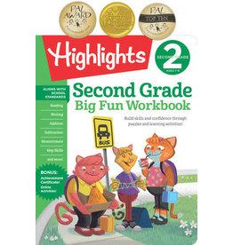 Highlights 2nd Big Fun Workbook