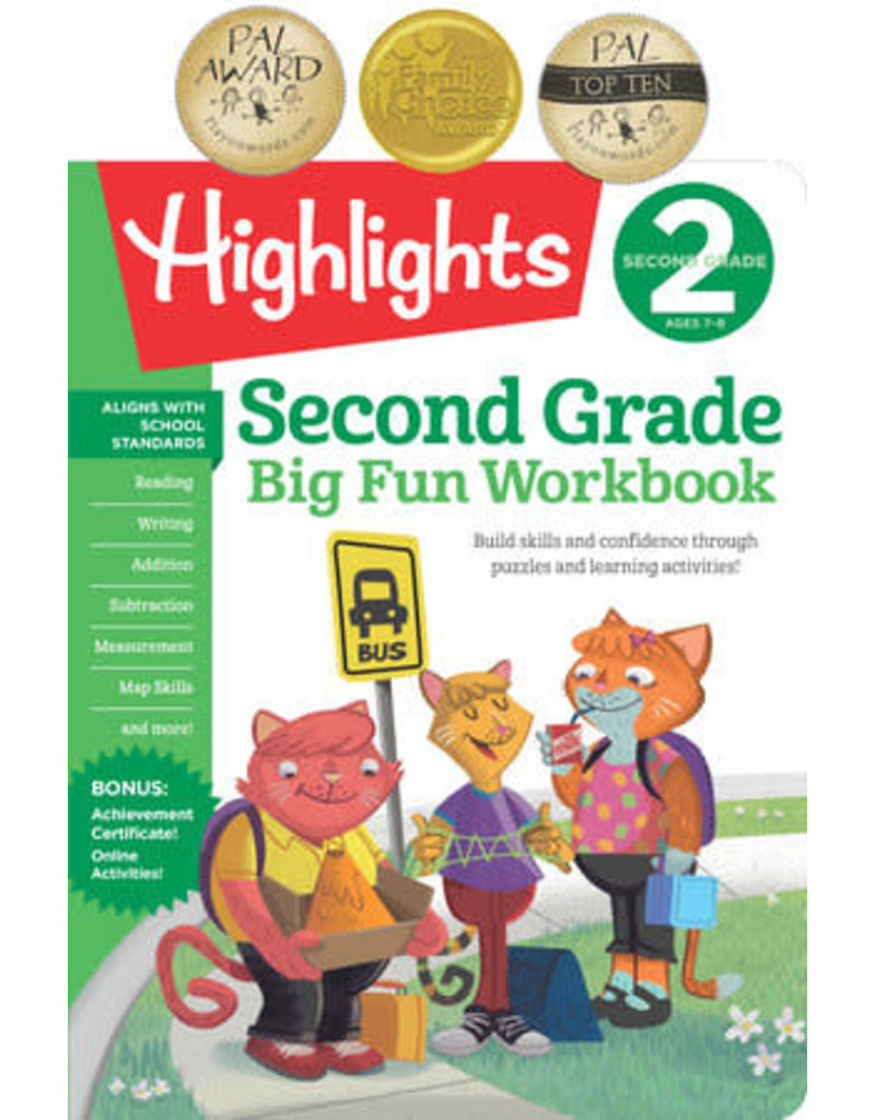 Highlights 2nd Big Fun Workbook
