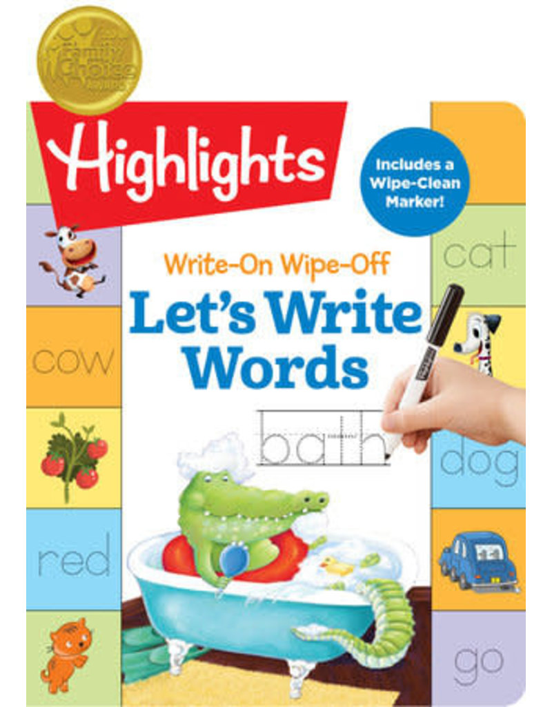 Highlights Write On Wipe Off - Write Words