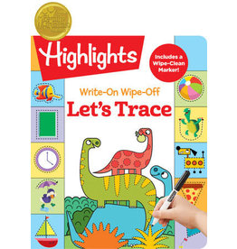 Highlights Write On Wipe Off - Let's Trace