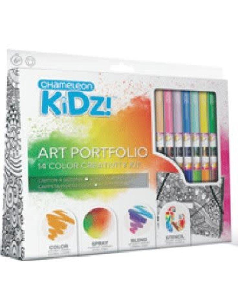 Imagination Internationals Chameleon Kidz Portfolio Creativity Kit