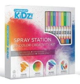 Imagination Internationals Chameleon Kidz Spray Station Creativity Kit