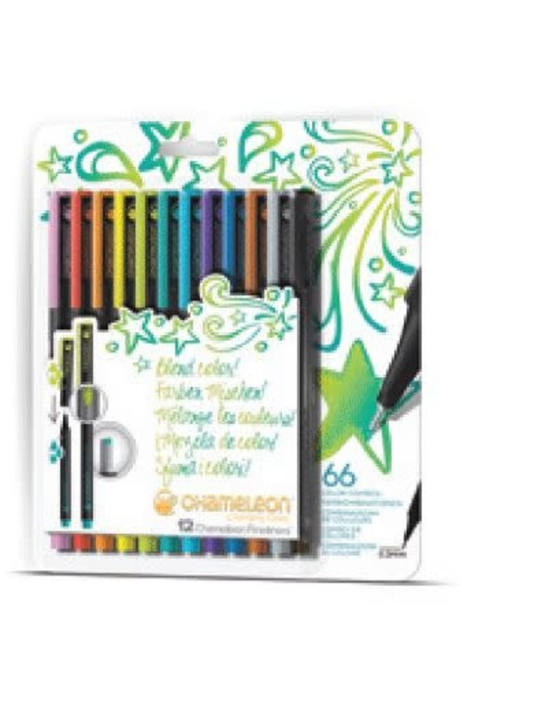 Imagination Internationals Fineliner 12 Pen Set - Bright