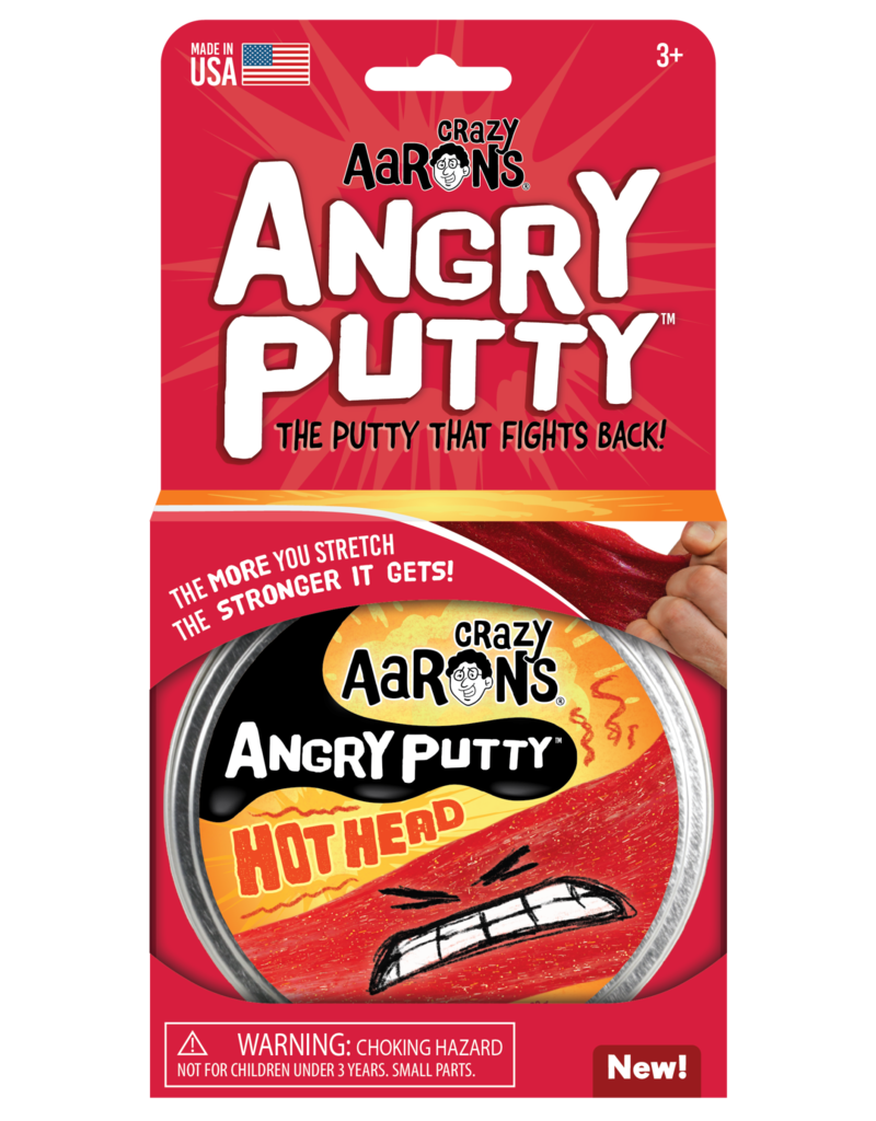 Crazy Aaron Hot Head Angry Putty