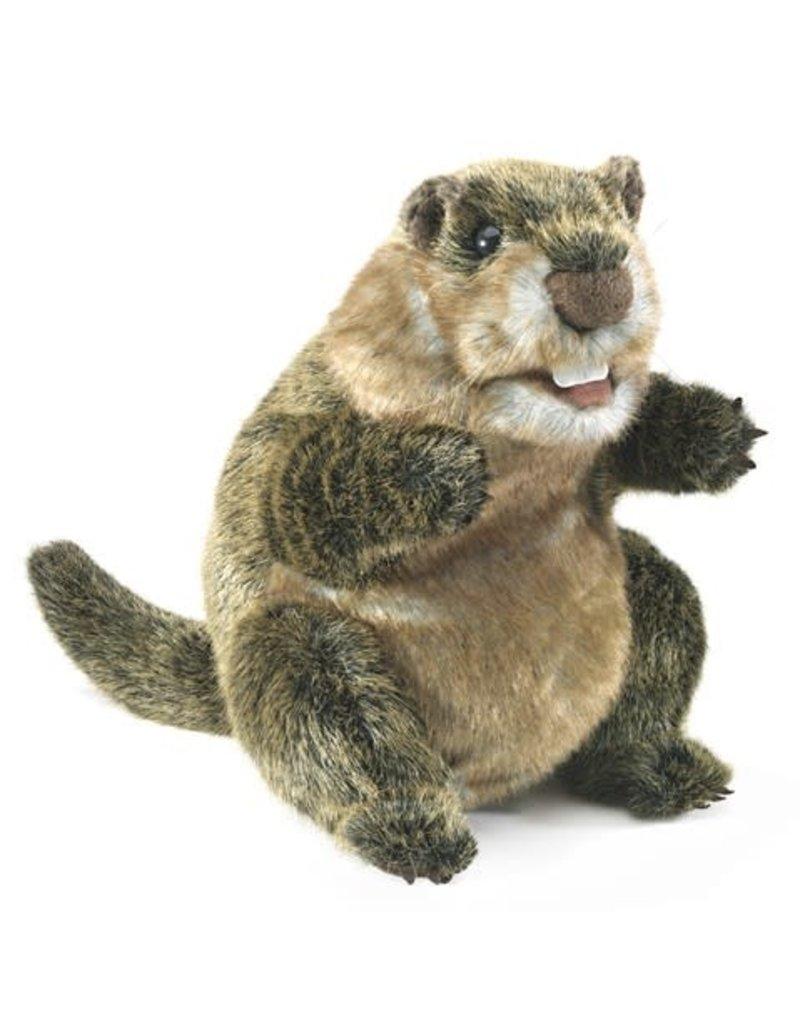 Folkmanis Groundhog Puppet