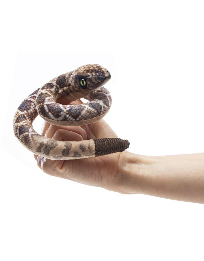 Folkmanis Mini Rattlesnake Puppet