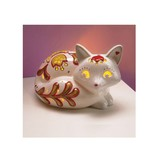 Bright Stripes LED Candle Critters Fox