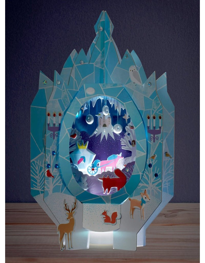 Bright Stripes Lantern Lands Ice Palace Fantasy