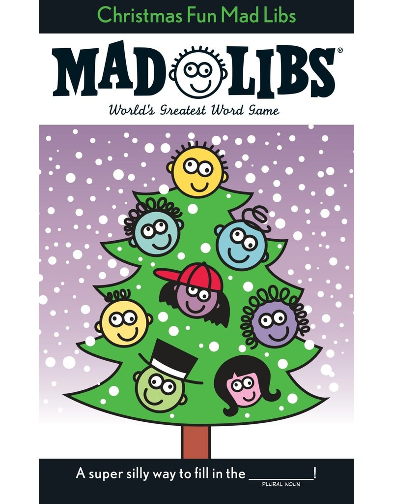 Penguin Christmas Fun Mad Libs