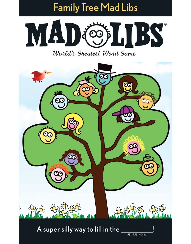 Penguin Family Tree Mad Libs
