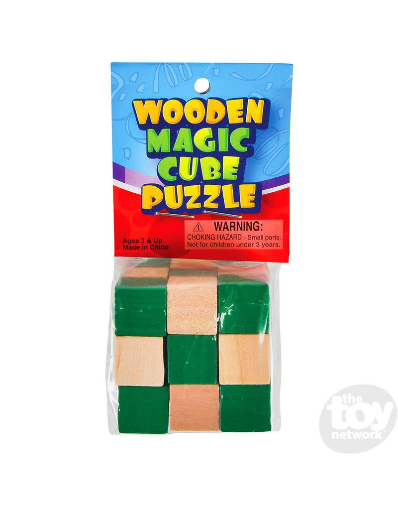 Wooden Magic Cube Puzzle