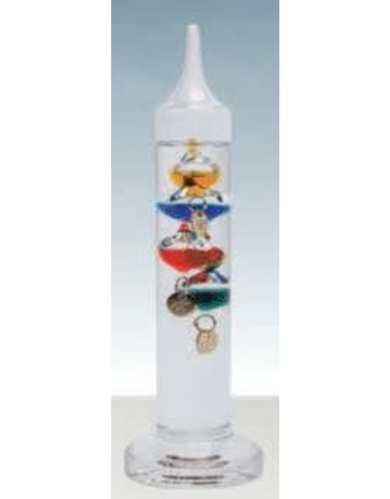 Heebie Jeebies Mini Galileo Thermometer 6""