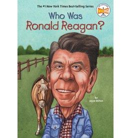 Penguin Randon House Who Was Ronald Reagan?
