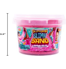 SlimyGloop Slimy Sand Small Bucket - Pink