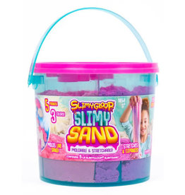 SlimyGloop Slimy Sand Tri-Color Large Bucket - Mystical