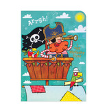 Pirate Treasure Tri-Fold Card