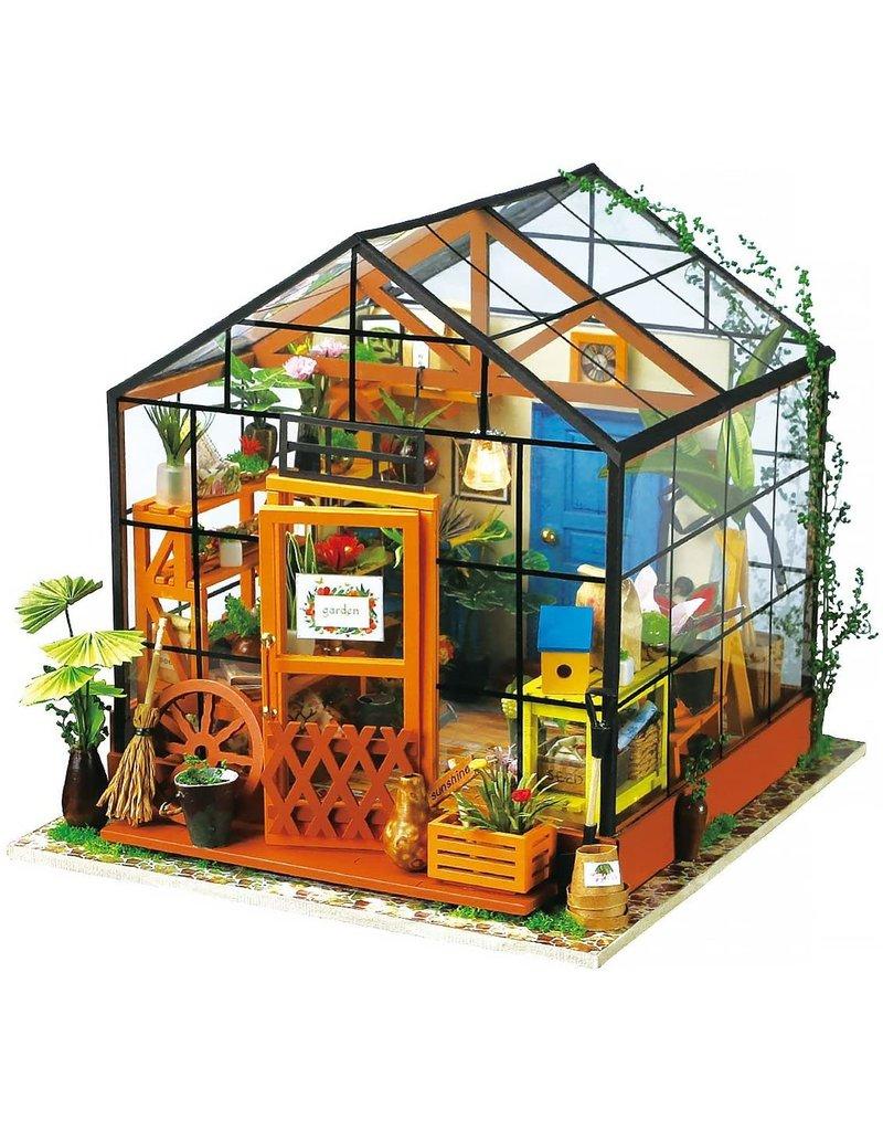 Hands Craft DIY Miniature Cathy's Flower House