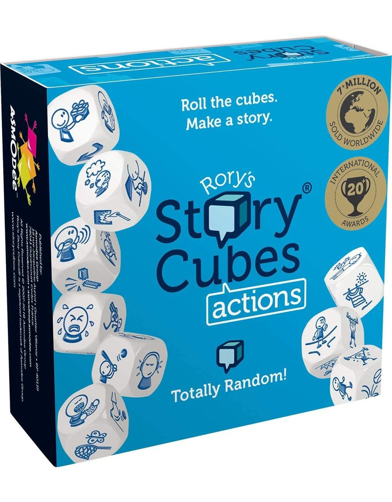 The Creativity Hub Rory's Story Cubes: Actions
