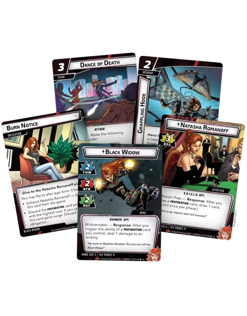 Fantasy Flight Games Marvel Champion Hero Pack: Black Widow