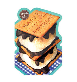Peaceable Kingdom S'mores Birthday Card