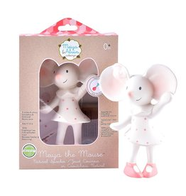 Tikiri Meiya the Mouse Natural Rubber Squeaker
