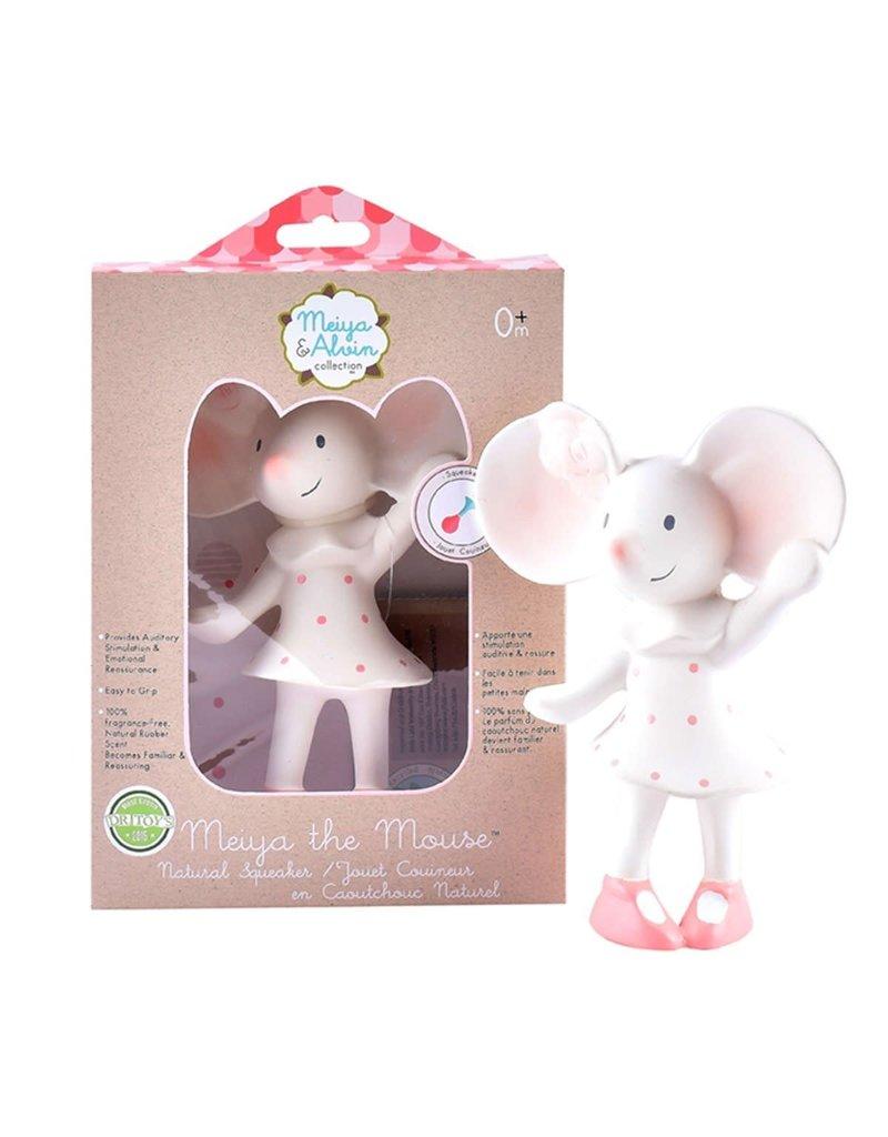 Tikiri Meiya the Mouse Natural Rubber Squeaker