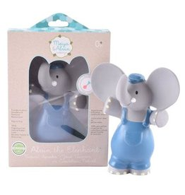 Tikiri Alvin the Elephant Natural Rubber Squeaker