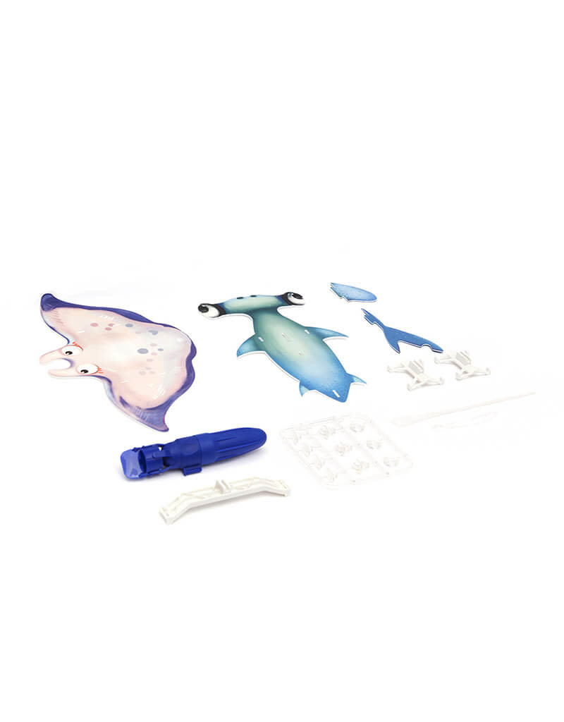 PlaySTEAM Ocean Friends Hammerhead Shark