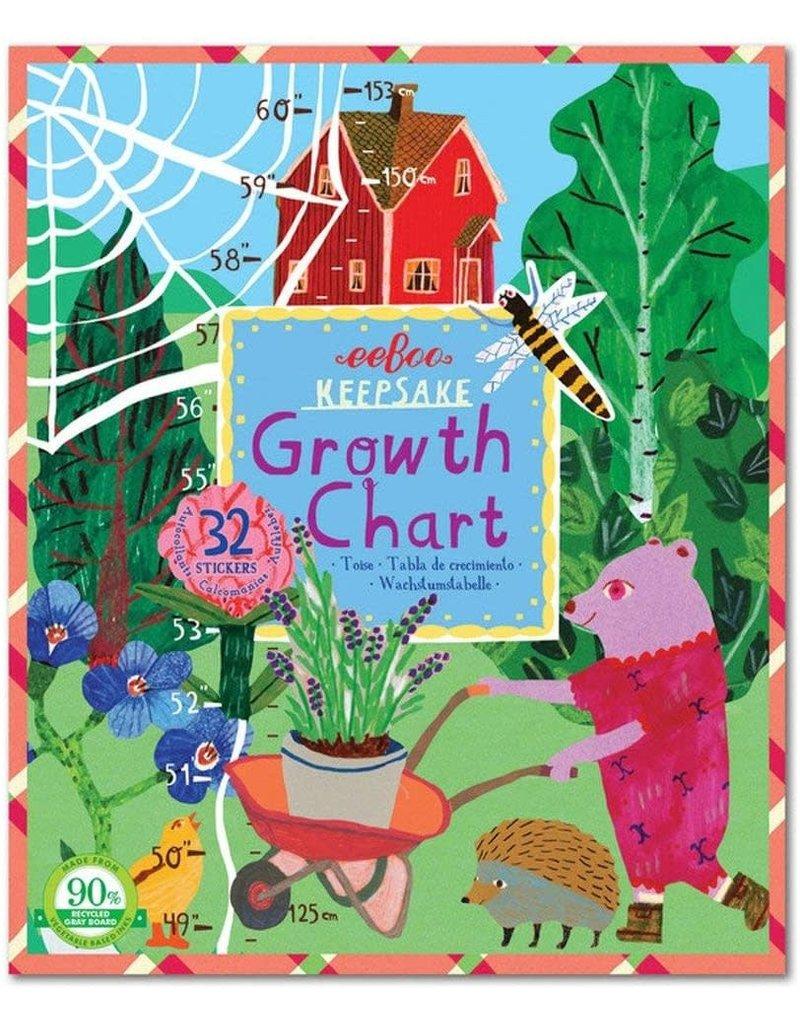 Eeboo Making the Garden Growth Chart