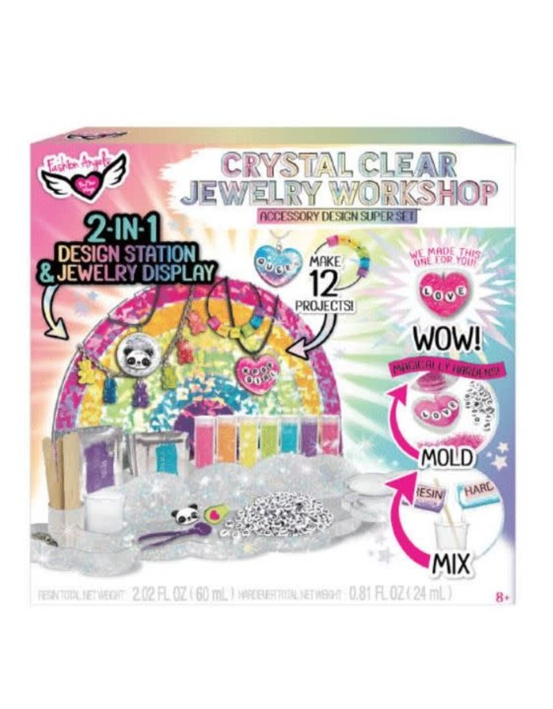 Fashion Angels Crystal Clear Jewelry Workshop Super Set