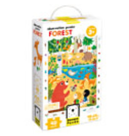 banana panda Observation Puzzle Forest