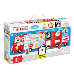 banana panda Make-a-Match Fire Truck