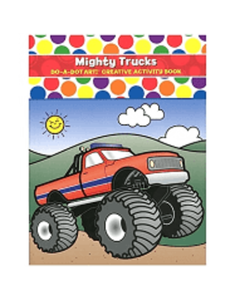 Do-A-Dot Mighty Trucks Do-a-Dot Book