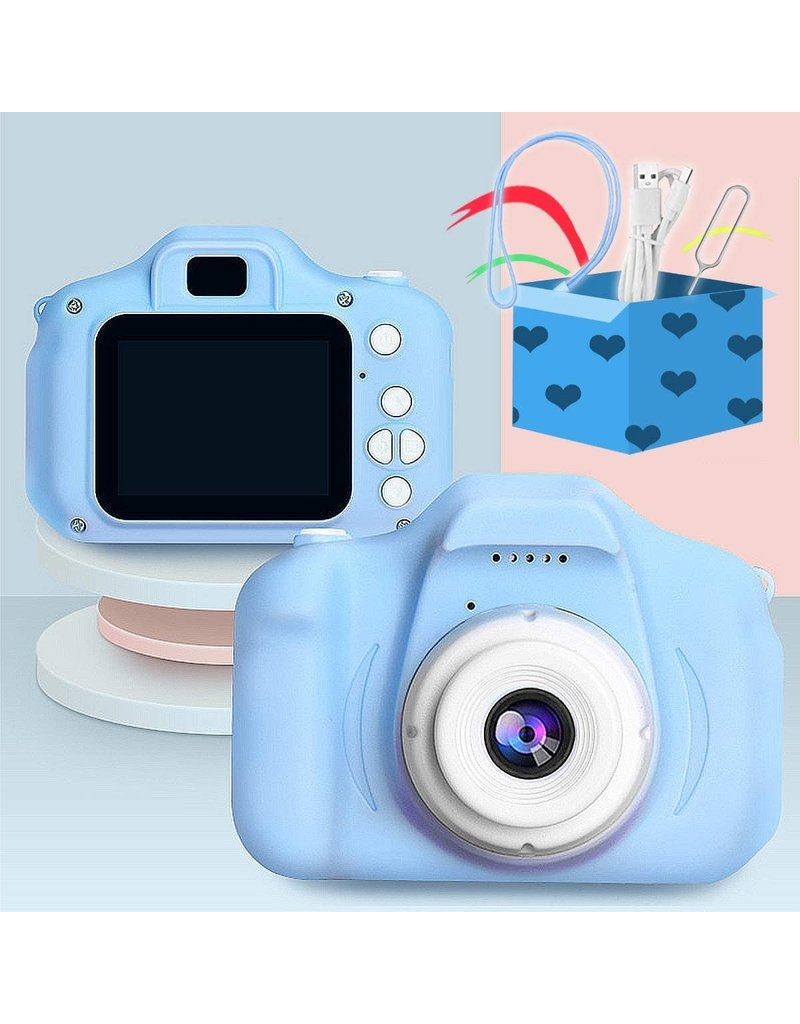 Kids Mini Digital Camera Blue