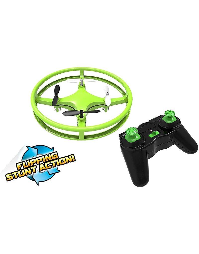 Mindscope Sky Lighter Glow Disc Drone Green