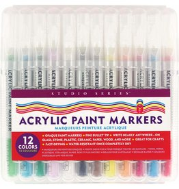 Peter Pauper Studio Series Acrylic Paint Marker Set