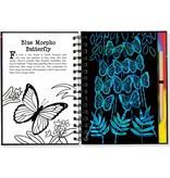 Peter Pauper Trace Along Scratch & Sketch Butterflies