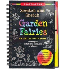 Peter Pauper Scratch and Sketch Garden Fairies