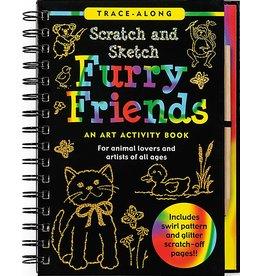 Peter Pauper Scratch and Sketch Furry Friends