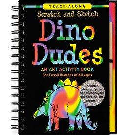 Peter Pauper Scratch & Sketch Dino Dudes