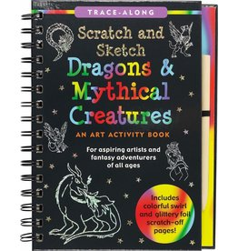 Peter Pauper Scratch & Sketch Dragons and Mythical Creatures
