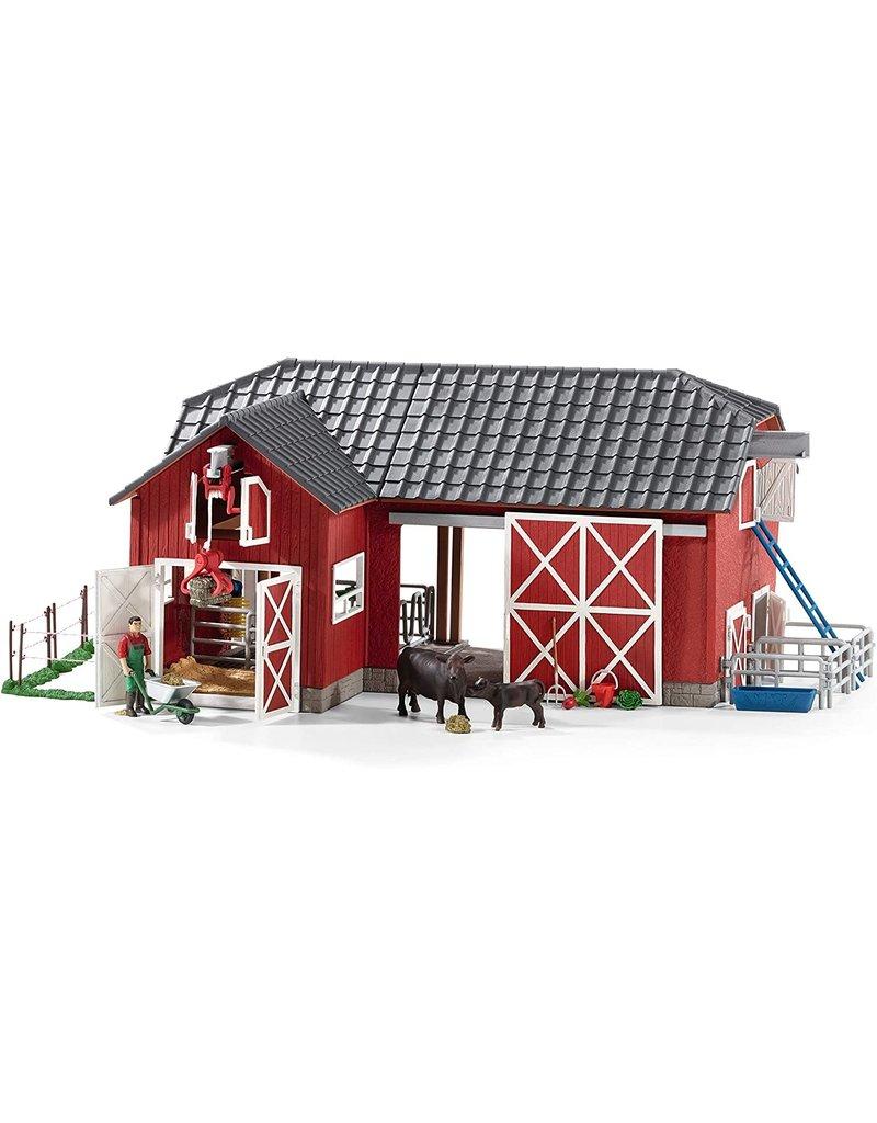 Schleich Red Barn w Animals and Accessories