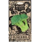 Oli & Carol Brucy Broccoli Rubber Teether