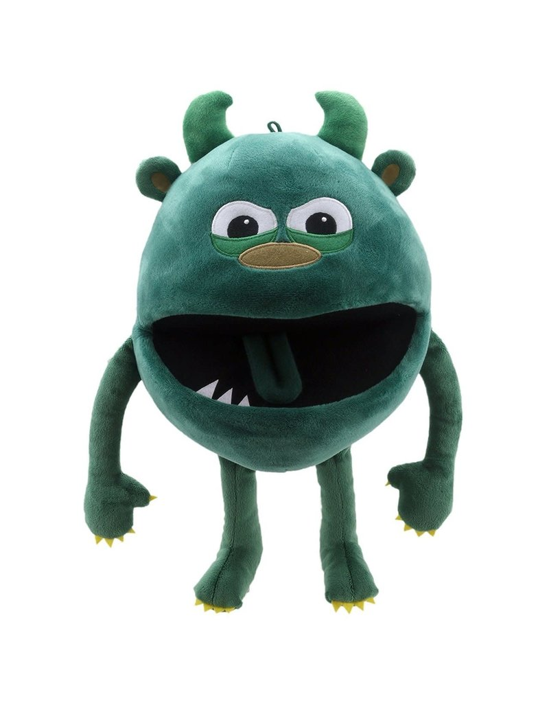 the Puppet Company Green Baby Monster
